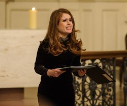 Joanna proud to sing at Missing People Christmas Carol Service