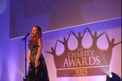 Joanna shines at The Charity Awards