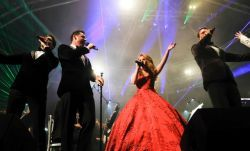Joanna dazzles in two summer proms concerts