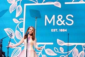 Joanna, Kylie and Paloma Faith bring sunshine to the M&S Summer Ball